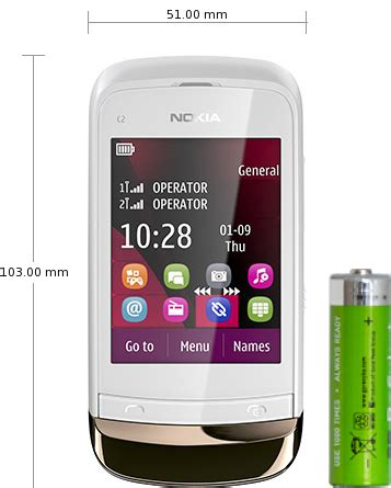 nokia c2 03 nokia themes nokia c2 03 specifications and reviews