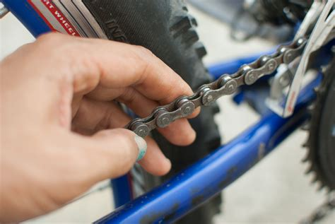 how to fix a broken bicycle chain wikihow