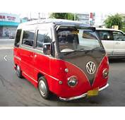 Subaru Sambar Conversion Looks Like A VW Love Van For Little People