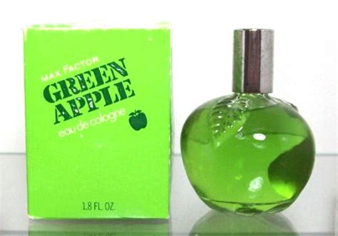 apple scents green apple max factor perfume a fragrance for women 1974
