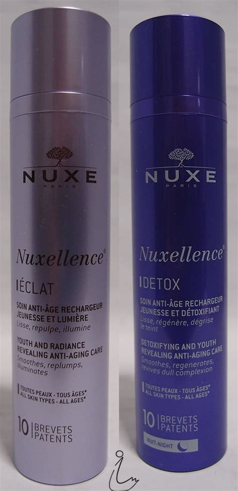710 Detox Purple Review by The Swanple Review Nuxe Nuxellence Eclat And Nuxellence
