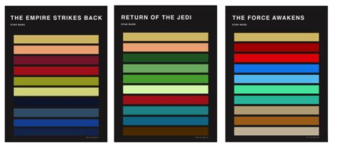 colors of the colors of wars palettes 8 fubiz media