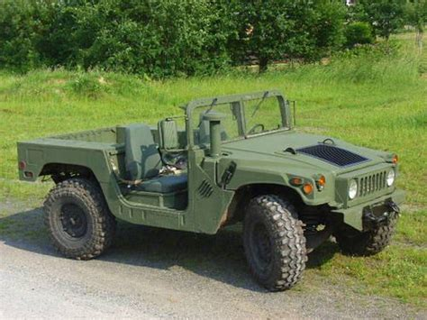 jeep humvee used military hummer sale hummer h1 hmmwv bobbed style
