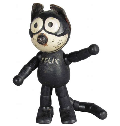 jointed doll cat schoenhut felix the cat wood jointed doll
