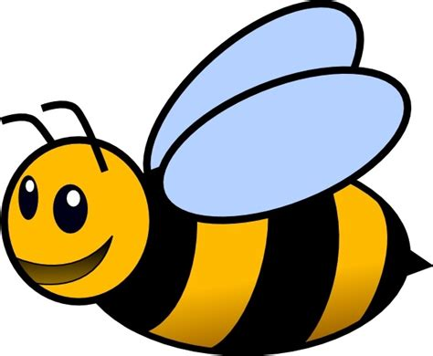 bee clip art free vector in open office drawing svg svg