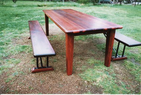 bench seat table table bench seats margaret river iron and wood