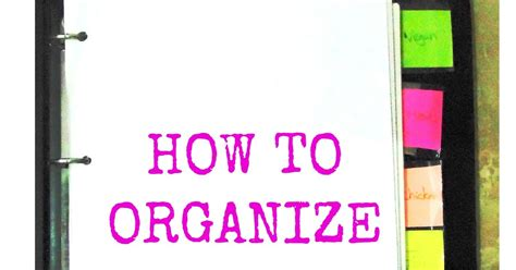 how to organize your life aseel s corner how to organize your life