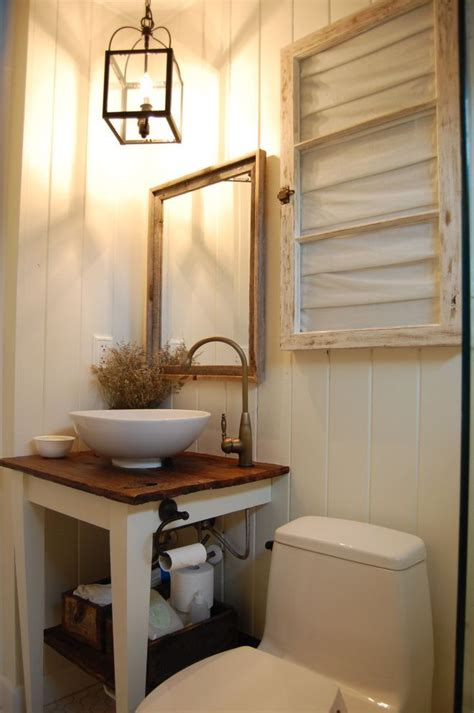 Country Bathroom Ideas For Small Bathrooms Small Bathroom House Pinterest