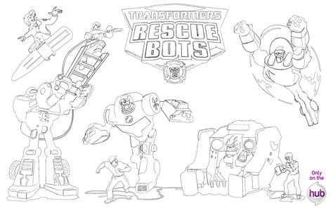 Transformers Rescue Bots Transformer Activity Pages Transformers Rescue Bots Coloring Pages