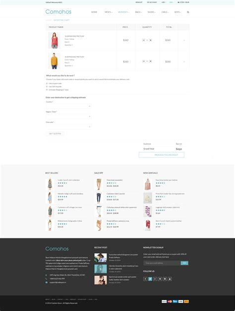 html shopping cart template comohos multipurpose ecommerce html5 template by tvlgiao