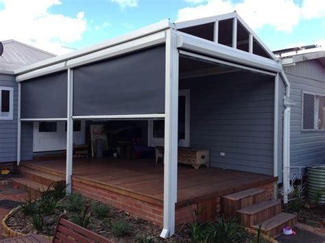 Outdoor Deck Awnings Ziptrak Blinds Perth Ziptrak Outdoor Screens A Amp A