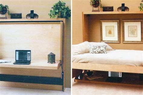 hidden bed ikea 10 murphy beds that maximize small spaces brit co