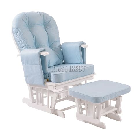 Nursing Rocking Chairs by Foxhunter Nursing Glider Maternity Rocking Chair With