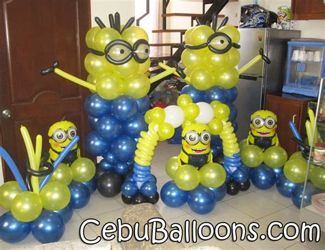 Minions Decoration minions despicable me cebu balloons and supplies