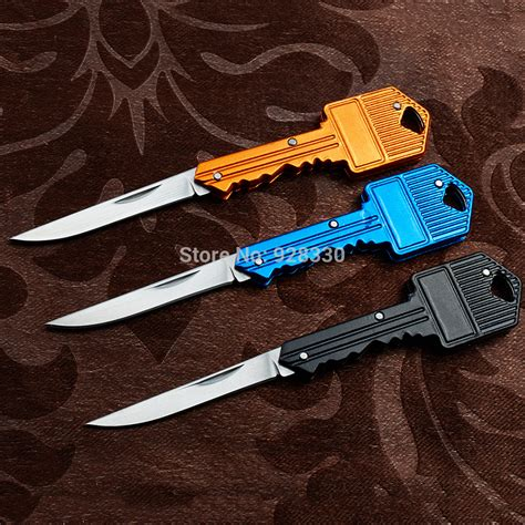 newest knives 2015 newest key knife stainless steel folding knife chain