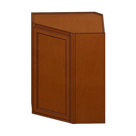 wall diagonal corner cabinet wdc2430bgs verona maple wall diagonal corner cabinet