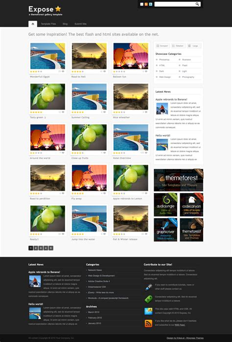 themes gallery 3 19 best gallery wordpress themes 2013 themes4wp