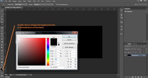 how to change the color of a layer in photoshop photoshop how do i change the background layer default