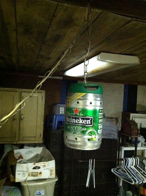 Mini Keg Lamp by Items Similar To Heineken Mini Keg Hanging Swag Lamp On Etsy