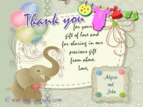 thank you card thank you cards after baby shower personalized note cards thank you