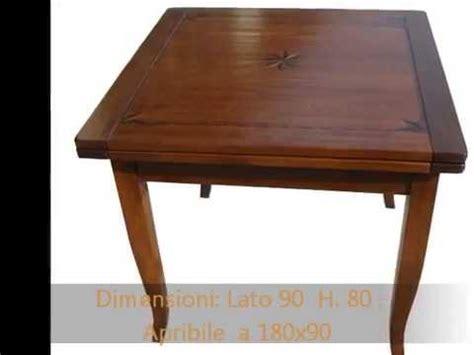 tavoli quadrati in legno tavolo tavoli quadrati rettangolari apribili allungabili