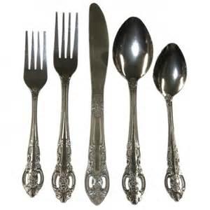 flatware sets bellamo stainless steel 45 piece classic flatware set by