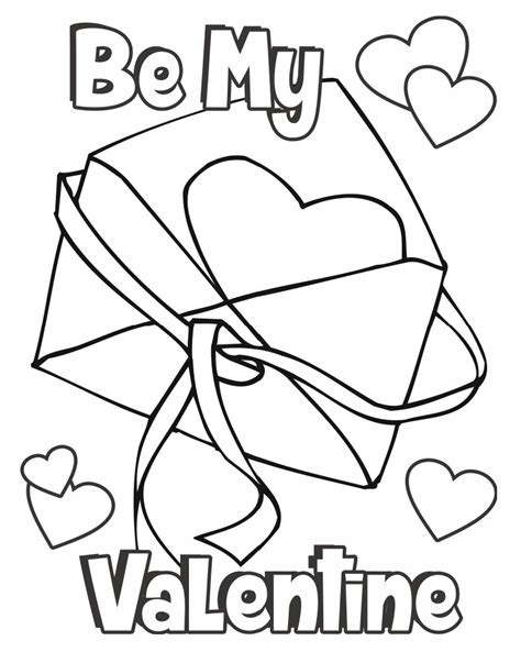 coloring pages for valentines cards valentine coloring page card