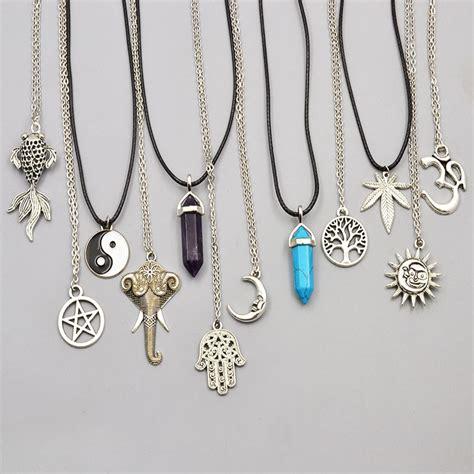 new fashion jewelry chain link crystal moon sun elephant