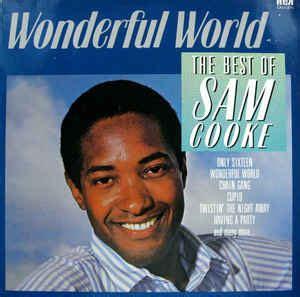 the best of sam cooke sam cooke wonderful world the best of sam cooke vinyl
