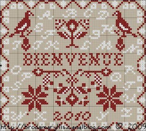 Broderie Points Comptés Grilles Gratuites by Grille Broderie Point Compt 233 Gratuite