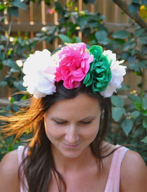 diy paper flower crown tutorial diy paper flower crown tutorial polka dot bride
