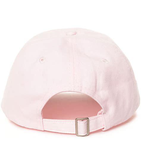 Exclusive Hat Baseball Strapback Line Bling Pink sausage praying pink baseball strapback hat zumiez