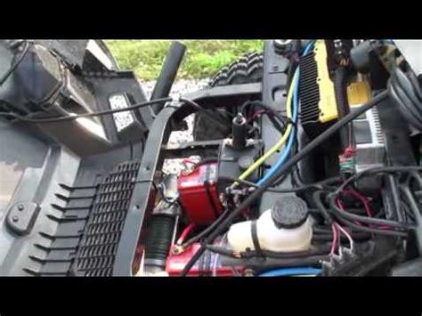 2 polaris ranger ev viper winch install youtube
