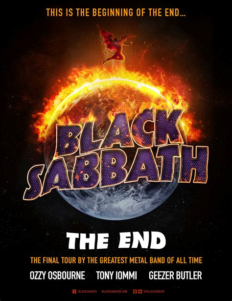black sabbath online black sabbath extends the end tour into fall 2016