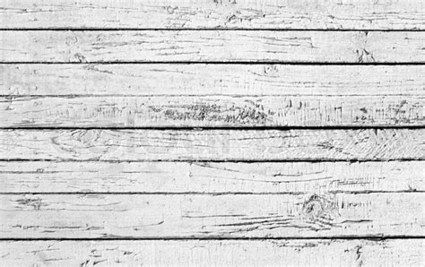 Weathered painted white wooden plank   Stock Photo   Colourbox