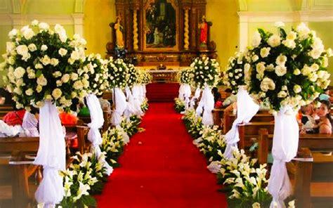 decoracion iglesia para boda economica decoracion iglesia para boda camino al altar decoracin