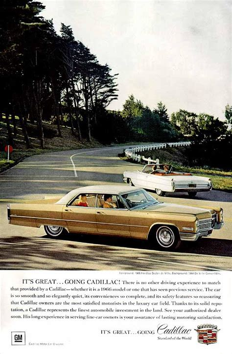 cadillac commercial with young male designer curbside classic 1965 66 cadillac sedan deville the