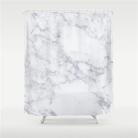 Marble Shower Curtain by White Marble Shower Curtain Bathroom Shower Curtain