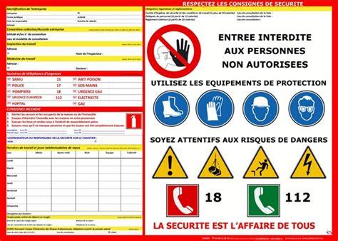 Protocole D Accord Préélectoral Modèle affichage code du travail pour les chantiers direct