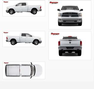 Dodge Ram Wrap Template Dodge Ram 1500 Vehicle Wrap Templates