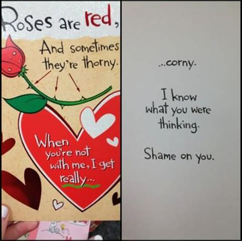 corny valentines cards 25 awesome and s day cards