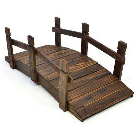 di legno per giardino ponticello di legno per decorazioni giardino da 70 cm