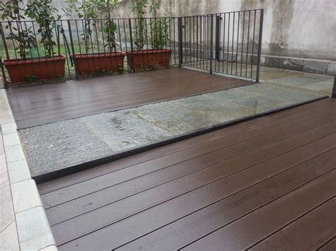 pavimento per veranda finest parquet per esterni by soriano pavimenti induno