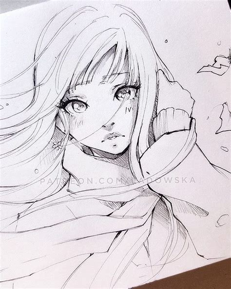 Anime Sketches by Best 25 Anime Sketch Ideas On Anime