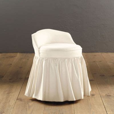 swivel vanity chairs bathroom upholstered swivel stool done in thibaut fabric matching