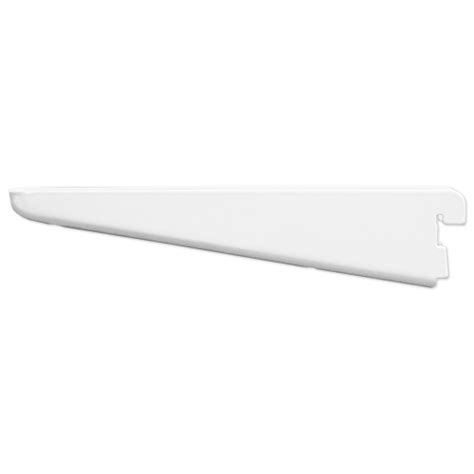 White Wooden Shelf Brackets 8 5 Inch Solid Wood Shelf Bracket White In Freedomrail