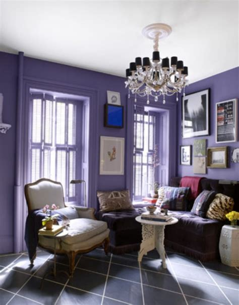 purple paint ideas for living room this color lavender paint as an accent wall for s room