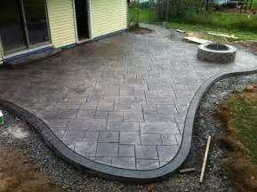 Poured Concrete Patio Ideas Good Looking Poured Concrete Patio Design Ideas Patio