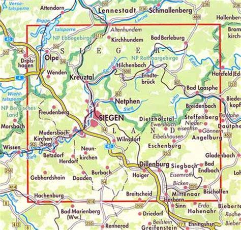 walk in europe.com: 25: siegerland nrw maps of the