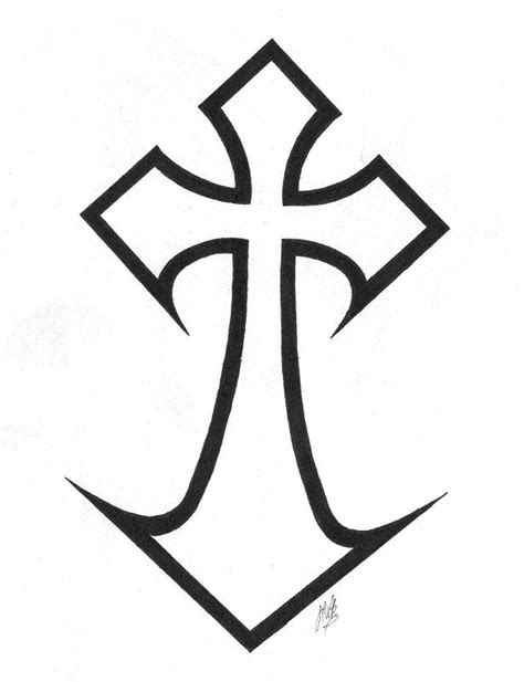 wicked cross tattoos design designs by howard blum